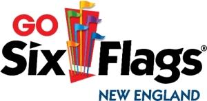Six Flags New England logo. (PRNewsFoto/Six Flags New England)